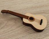 Ukulele - TOY miniature replica - present