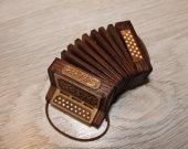 Harmonic - accordion - TOY miniature copy - present - TOY miniature musical instrument