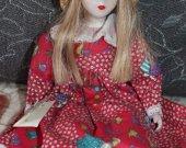 Rare collectible doll FANAS -ARTESANOS Spain