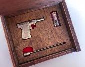 2mm pinfire gun Savage 1907