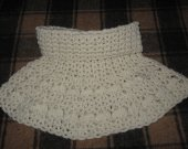 Hand Knitted Scarf Bactus new 100% Wool