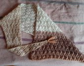 Hand Knitted Scarf Bactus new_2