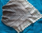 Hand Knitted Scarf Bactus