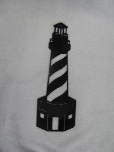 Lighthouse 001 Metal Wall Art Silhouette