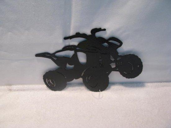 ATV  002 Small  Wall Art Metal Silhouette