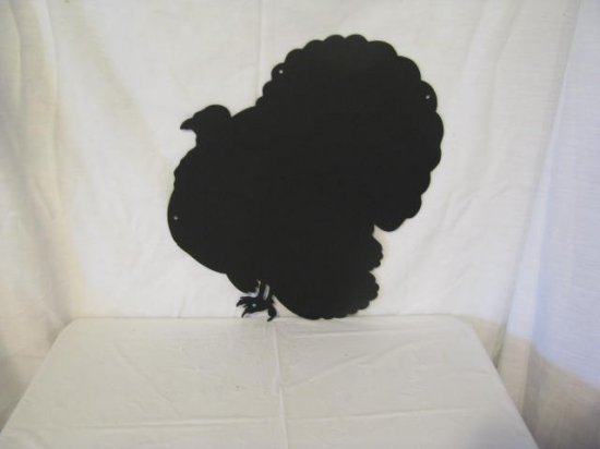 Turkey 010 Metal Wildlife Wall Art Silhouette