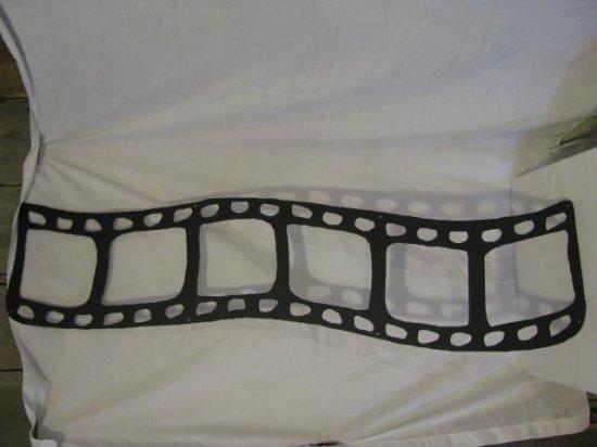 35MM Film  Strip Metal Wall Art Silhouette