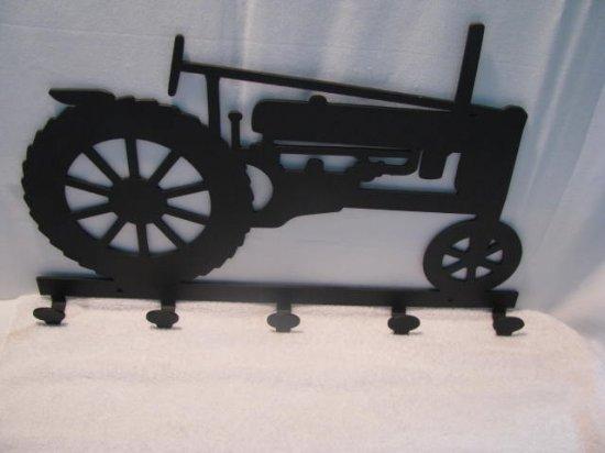 Tractor 039 Coat Rack Metal Farm Wall Art Silhouette