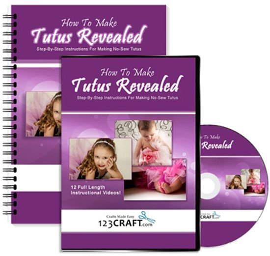 How To Make Tutus Revealed - Complete Course - Step-By-Step Instructions For Making Tutus - DVD, e-Manual, Online Videos