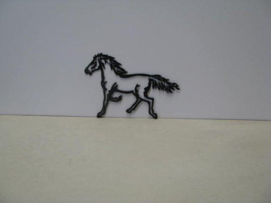 Horse 221 Western Metal Art Silhouette