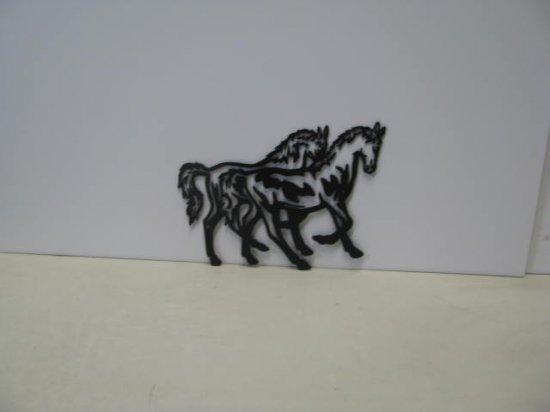 Horse 220  Metal Art Western Silhouette