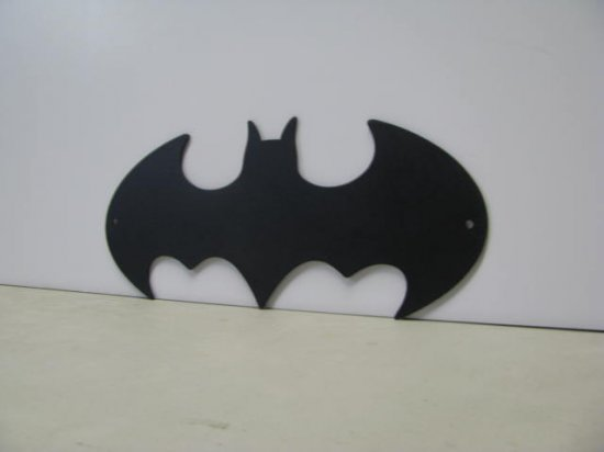 Batman Symbol 003  Metal Art Silhouette