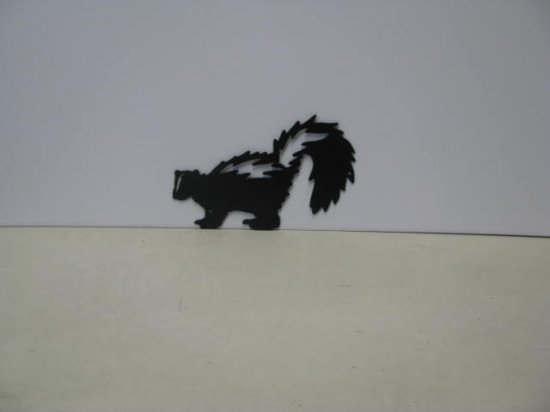 Skunk 004  Metal Art Silhouette