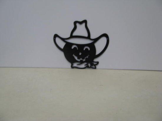 Jack O Lantern 006 Halloween Metal Art Silhouette