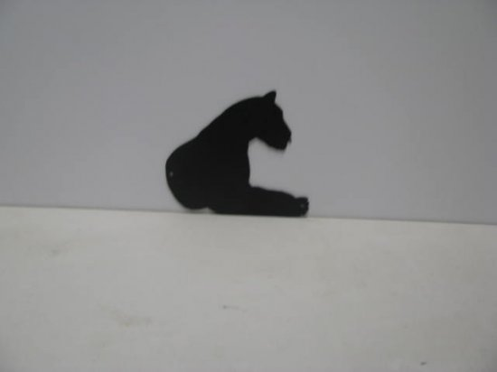 Tiger 005 Wildlife Metal Art Silhouette