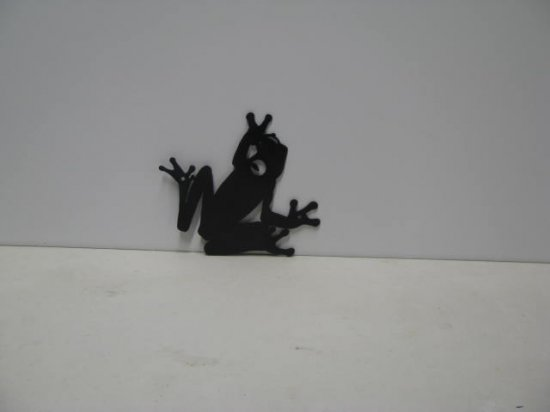 Frog 002 Wildlife Metal Art Silhouette