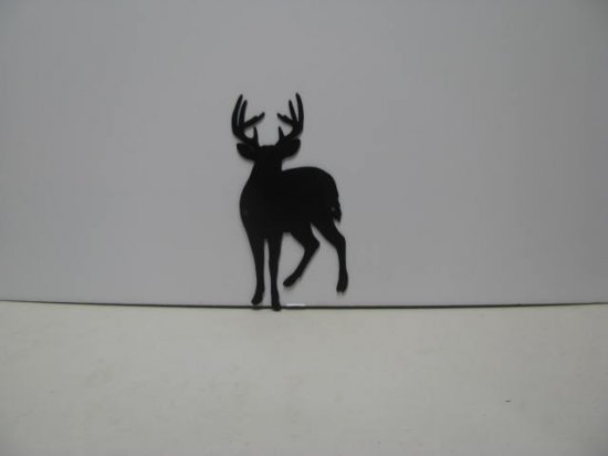 Buck Deer 017 Wildlife Metal Wall Yard Art