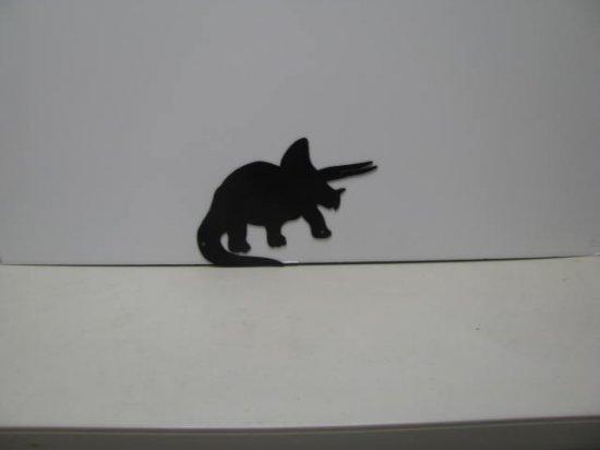 Dinosaur 028 Metal Wall Yard Art Silhouette