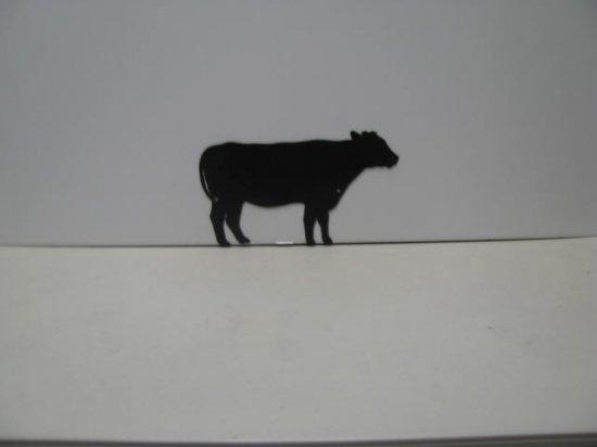Cow 096 Western Metal Wall Yard Art Silhouette