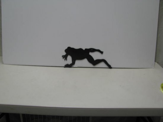 Frog Jumping Animal Silhouette