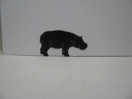Hippopotamus 007 Animal Silhouette