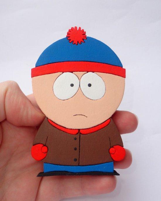 Handmade Stan Marsh South Park Figure