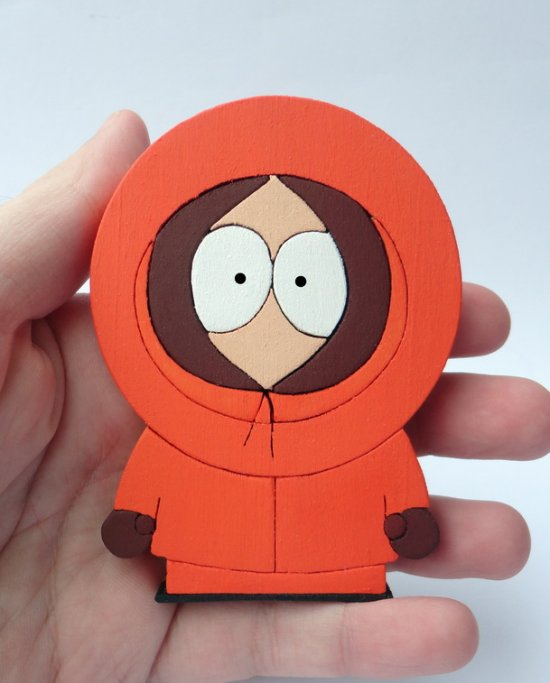 Handmade Kenny South Park Figure