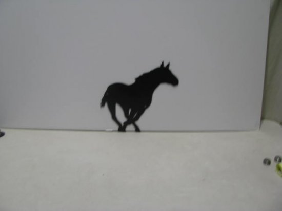 Horse 184 Western Metal Wall Yard Art Silhouette