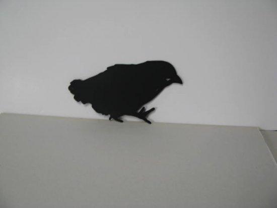 Baby Chick 002 Metal Wall Yard Art Silhouette