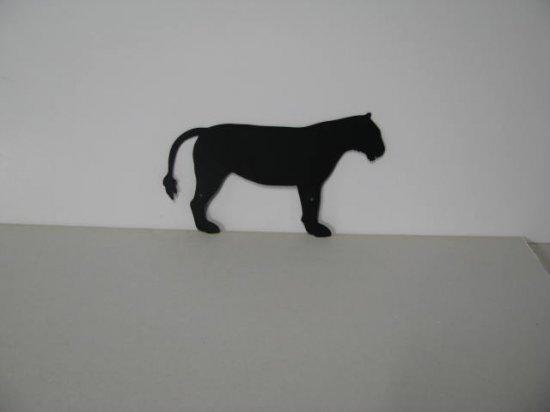 Tiger 022 Metal Wall Yard Art Silhouette