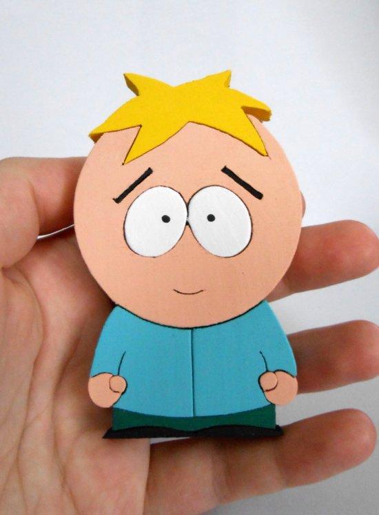 Handmade Butters Stotch South Park Figure