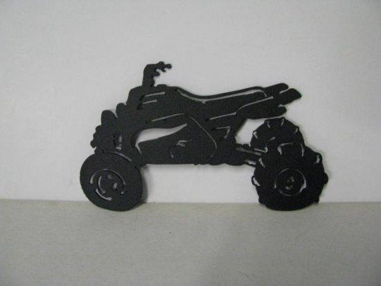 Banshee Drag Metal Art Silhouette