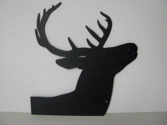 Whitetail Buck 158 Small Metal Art Silhouette