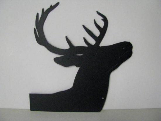 Whitetail Deer 158 Metal Art Wildlife Silhouette