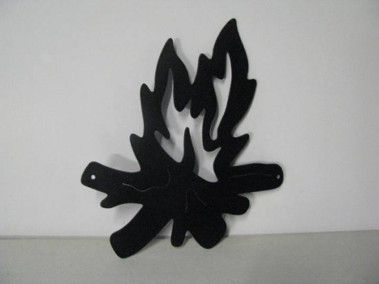Camp Fire 429 Metal Art Silhouette