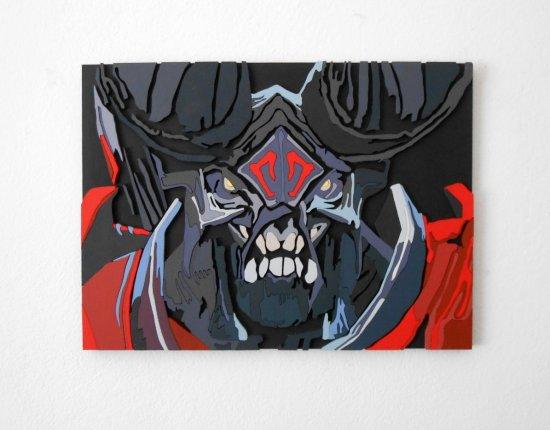 Handmade Doom, Dota 2 portrait