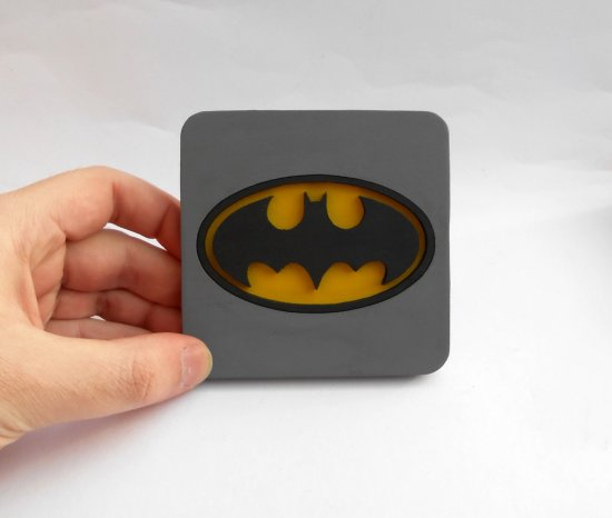Handmade Batman coaster