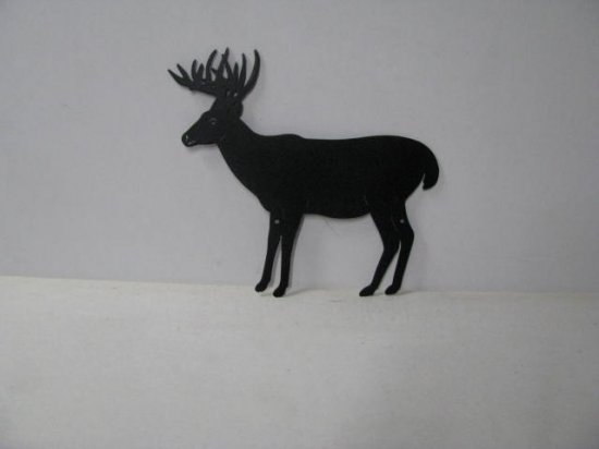 Buck 037 Large Standing Wildlife  Metal Art Silhouette