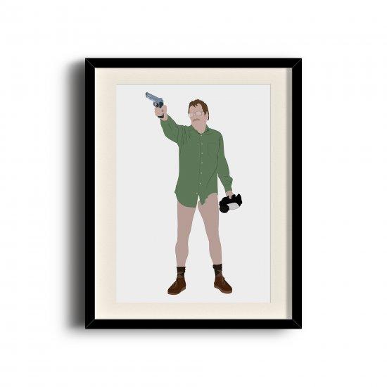 Walter White, Breaking Bad minimalist poster, Breaking Bad digital art poster