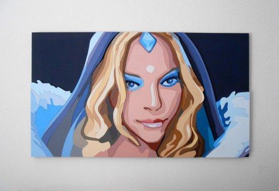 Crystal Maiden, Dota 2 portrait