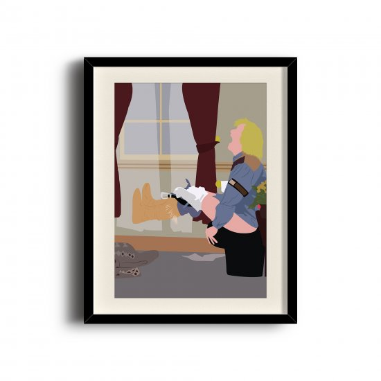 Dumb and Dumber minimalist poster, Dumb and Dumber digital art poster