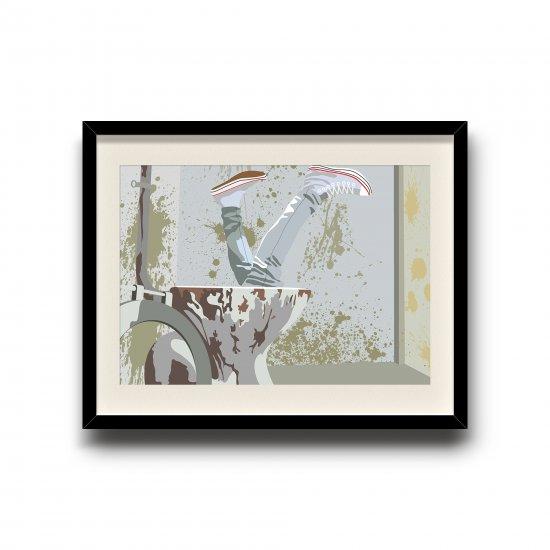 Trainspotting minimalist poster, Trainspotting digital art poster