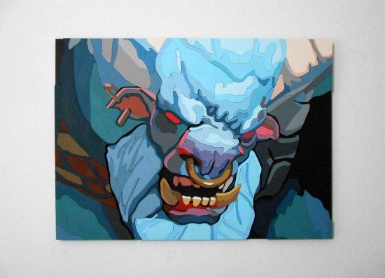 Handmade Spirit Breaker, Dota 2 portrait Large