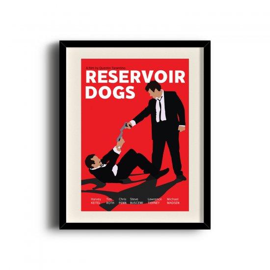 Reservoir Dogs minimalist poster, Reservoir Dogs digital art poster