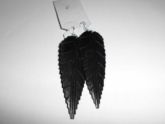 2 Vintage Wood earrings Black wood for women earrings dangle sun earrings,wooden earrings for women, boho earrings, gift  hippie