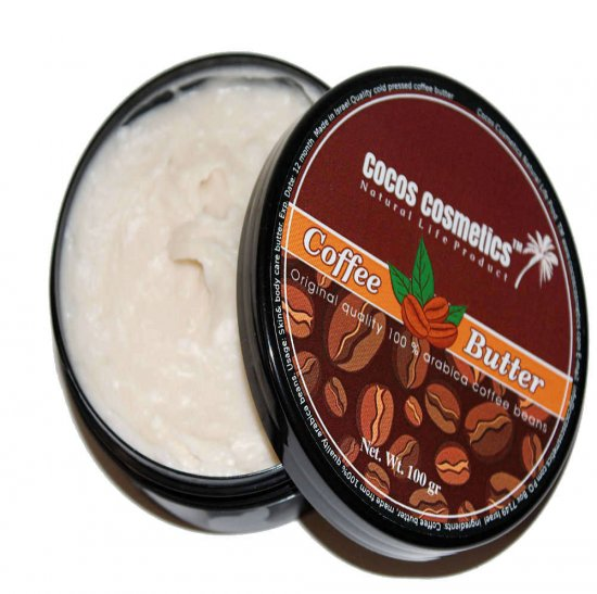 Coffee Body Butter, Natural Coffee Butter, Coffee Bean Butter, Anti Cellulite Coffee Butter,