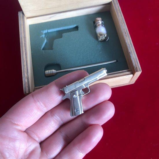 2mm pinfire gun Colt 1911 Scale 1:6