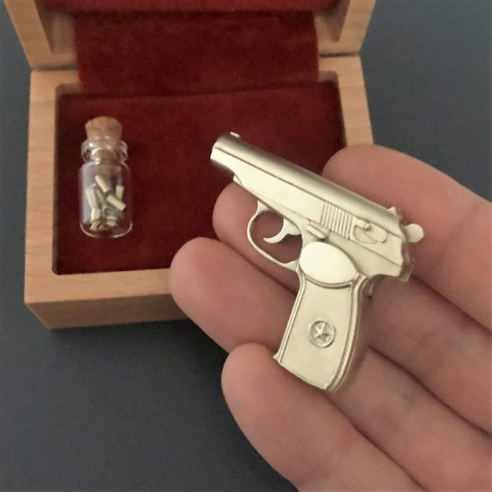 2mm pinfire gun Makarov Pistol