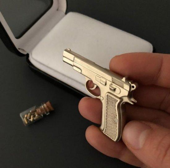 2mm pinfire gun CZ-75