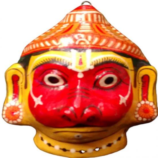 Papier Mache Mask of Hanuman